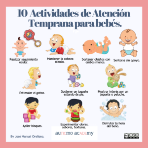 atencion temprana, atencion temprana autismo, atención temprana tea, estimulación infantil consejos, actividades de estimulación