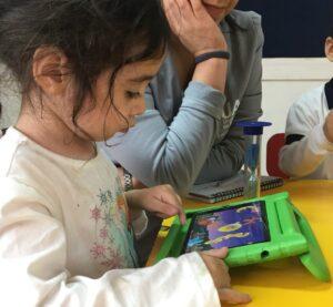 ilugon apps, aprender vocabulario para niños, actividades de vocabulario para niños, frutas y verduras para niños, apps y autismo, apps y TEA, tecnología y autismo, actividades para niños con autismo, auticmo blog,