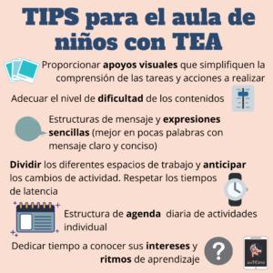 Consejos Para Trabajar En El Aula Con Niños Con Tea Aulatea