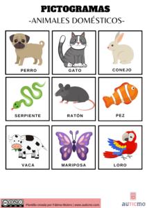 pictogramas animales, animales domésticos dibujos, dibujos de animales, pictogramas animales, pictogramas para niños, actividades con pictogramas