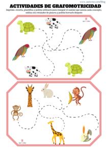 juegos de grafomotricidad, grafomotricidad infantil, grafomotricidad en niños con TEA, descargar actividades de grafomotricidad, enseñar a niños con TEA, recursos TEA, recursos autismo, materiales para niños con autismo
