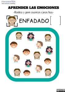 actividades de emociones para niños, aprender emociones básicas, actividades de teoria de la mente, teoria de la mente autismo, tom autismo,